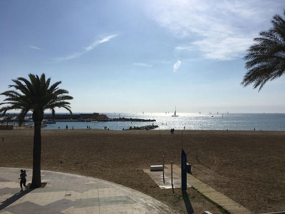 Barcelona - Strand