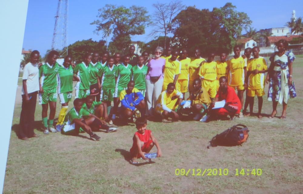 Buchvorstellung Sport für Entwicklung und Frieden