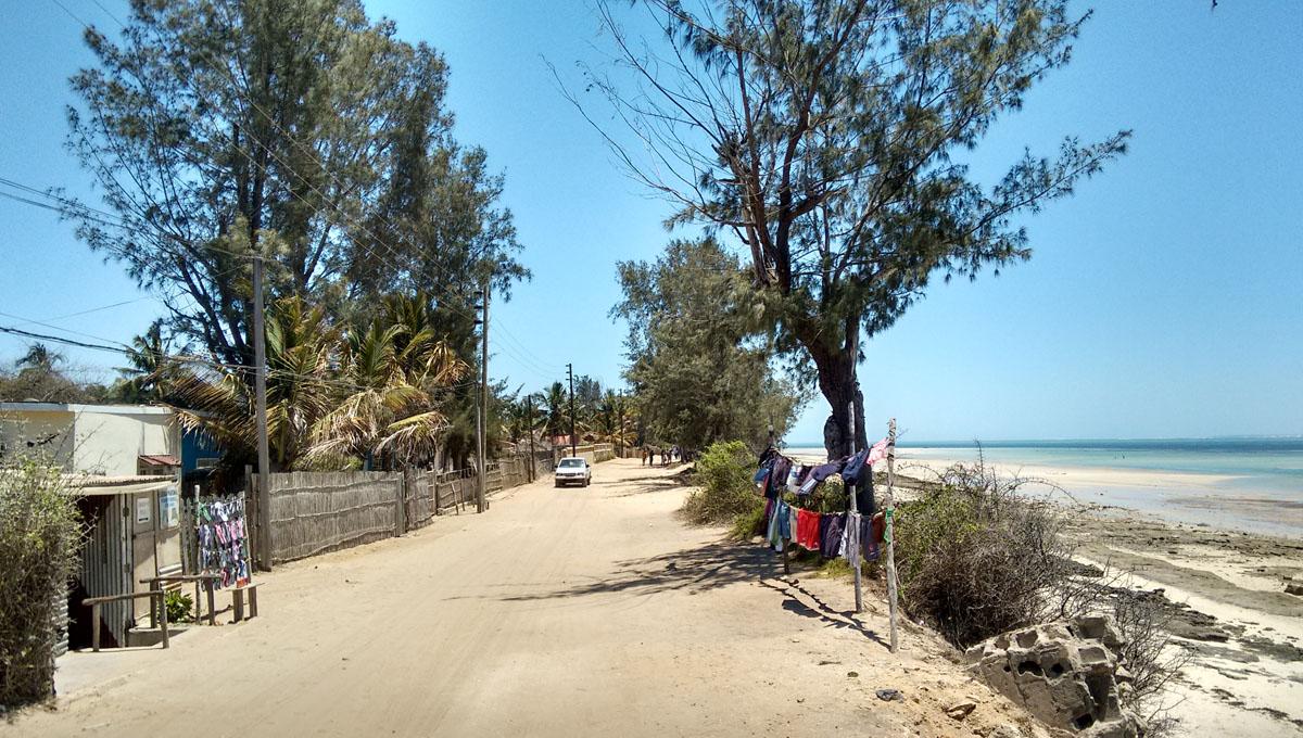 Mosambik Vilankulos - Bekleidungsgeschäft