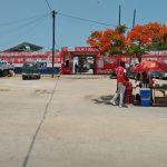 Mosambik Vilankulos - am Markt