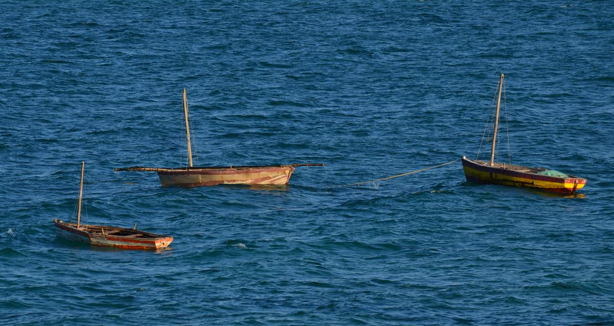 Mosambik Vilankulo - Fischerboote