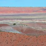 Petrified Forest Nationalpark - Painted Desert